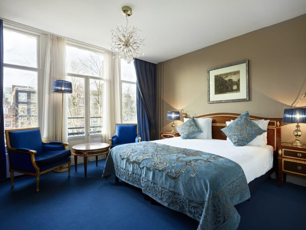 Deluxe room overlooking Herengracht