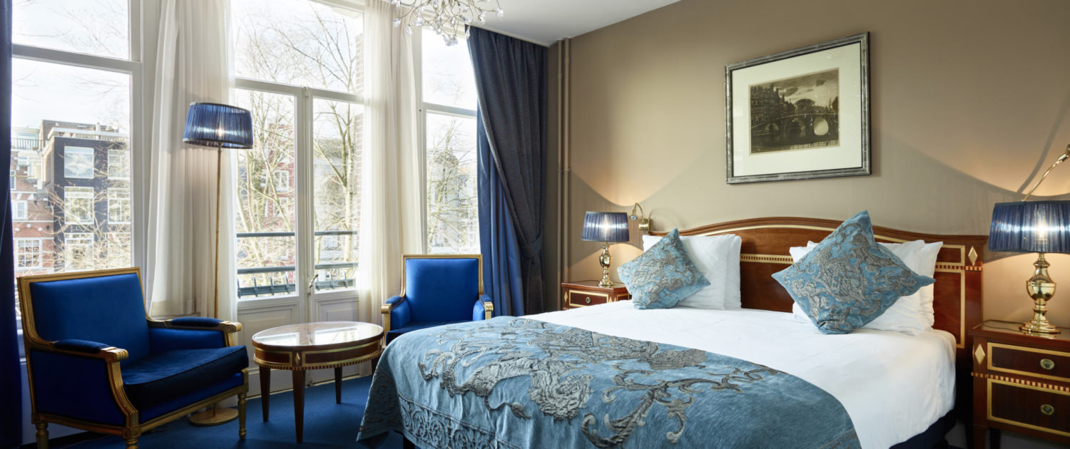 Deluxe room overlooking Herengracht