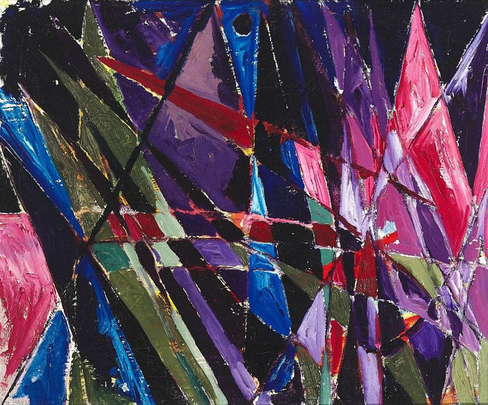 Else Alfelt - Violet Nat - 1949
